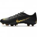 Pánske futbalové kopačky outdoorové NIKE-Mercurial Vapor X 12 Academy M FG black/vivid gold -