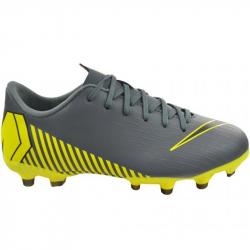 Juniorské futbalové kopačky outdoorové NIKE-Mercurial Vapor X 12 Academy GS Jr FG dark grey/opti ye