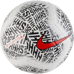 Futbalová lopta NIKE-neymar strike - WHITE/BLACK/(CHALLENGE RED)