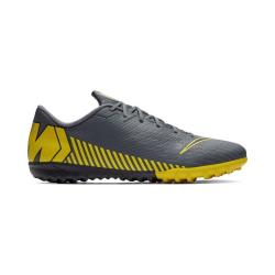 Pánske futbalové kopačky turfy NIKE-Mercurial Vapor X 12 Academy M TF dark grey/opti yellow/blac