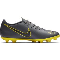 Pánske futbalové kopačky outdoorové NIKE-Mercurial Vapor 12 Club M FG dark grey/opti yellow/blac