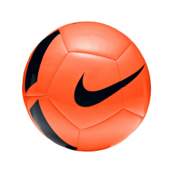 Futbalová lopta NIKE-pitch foot - TOTAL ORANGE/(BLACK)