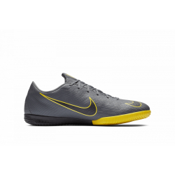 Juniorské futbalové kopačky halové NIKE-Mercurial Vapor X 12 Academy GS Jr IC dark grey/opti yellow/