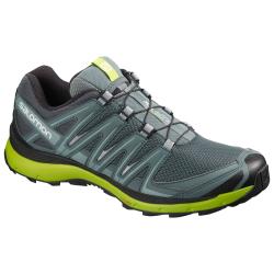 Pánska trailová obuv SALOMON-XA LITE Stormy Wea/Bk/Lime Gree