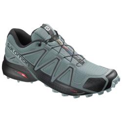 Pánska trailová obuv SALOMON-SPEEDCROSS 4 Stormy Wea/Bk/Stormy W