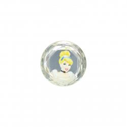 CROCS-Jibbitz- Cinderella Printed Rhinestone