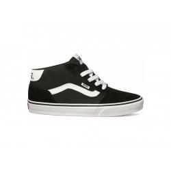 Pánska rekreačná obuv VANS-MN CHAPMAN MID STRIPE black/white