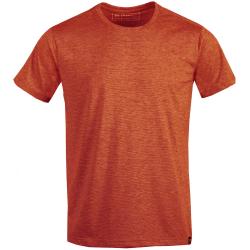 Pánske turistické tričko s krátkym rukávom FUNDANGO-Tech T-orange