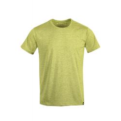 Pánske turistické tričko s krátkym rukávom FUNDANGO-Tech T-honey