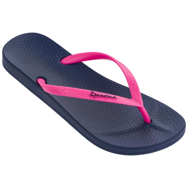 Dámske žabky (plážová obuv) IPANEMA-Anatomica Tan Fem blue/pink -