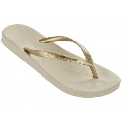 Dámske žabky (plážová obuv) IPANEMA-Anatomica Tan Fem beige/gold