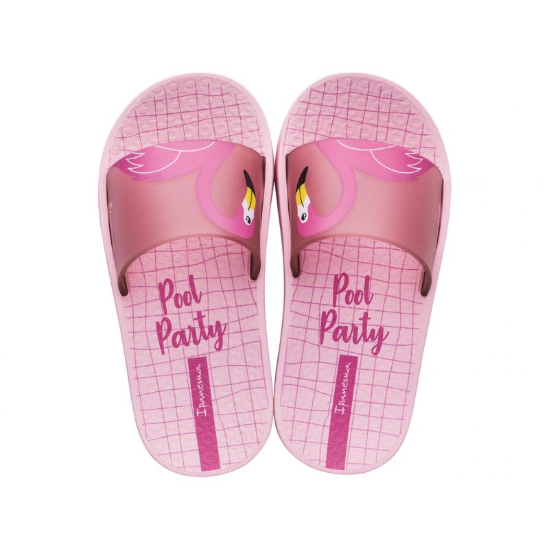 Detská obuv k bazénu IPANEMA-Urban Slide K pink -