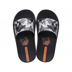 Detská obuv k bazénu (plážová obuv) IPANEMA-Urban Slide K black