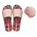 Dámska obuv k bazénu IPANEMA-Way Print Fem pink/coral -