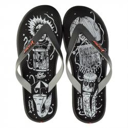 Pánske žabky (plážová obuv) RIDER-R1 Energy black/grey