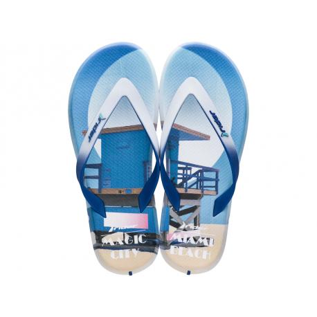 Pánské žabky (plážová obuv) RIDER-R1 Energy white / blue
