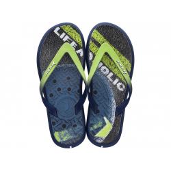 Pánske žabky (plážová obuv) RIDER-R1 Energy Plus II blue/green