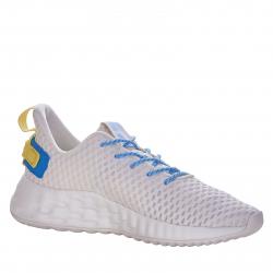 Dámska rekreačná obuv ANTA-Piroma white/purplished blue/bright yellow