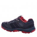 Pánska turistická obuv nízka EVERETT-Sivalore black/grey/red -