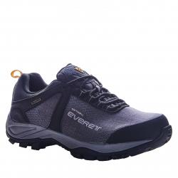 Pánska turistická obuv nízka EVERETT-Tiloq grey/black