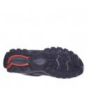 Dámska turistická obuv nízka EVERETT-Melize black/grey/pink -