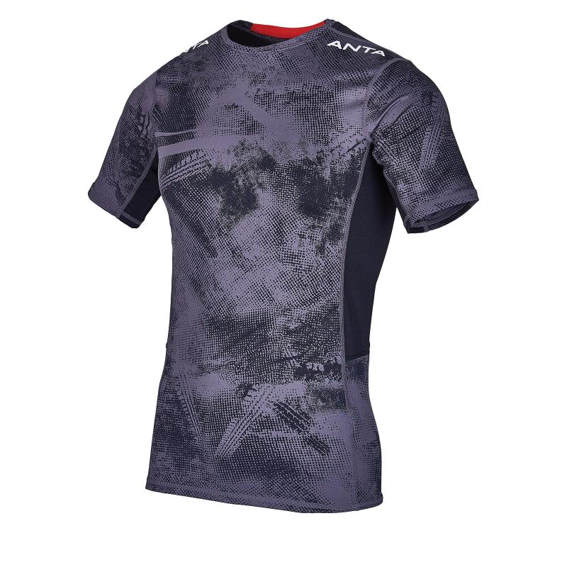 Pánske tréningové tričko s krátkym rukávom ANTA-SS Tee-MEN-85927109-3-Q219-Grey Fog -