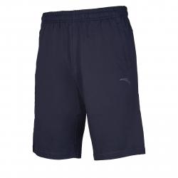 Pánske teplákové kraťasy ANTA-Knit Half Pants-MEN-85927794-2-Q219-Basic Black