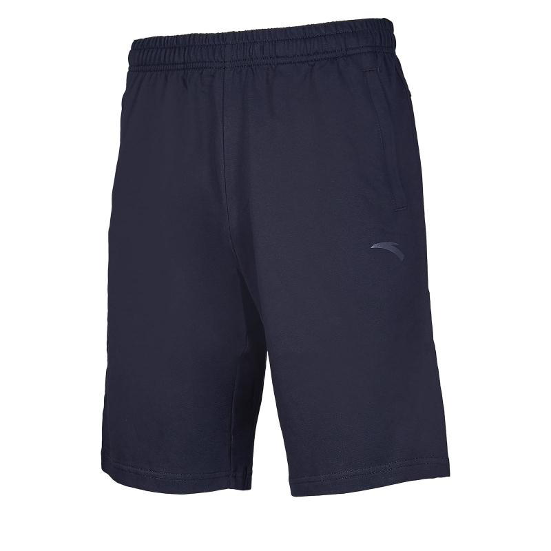 Pánske teplákové kraťasy ANTA-Knit Half Pants-MEN-85927794-2-Q219-Basic Black -