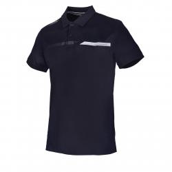 Pánske tréningové polo tričko s krátkym ANTA-SS Polo-MEN-85923131-5-Q219-Basic Black