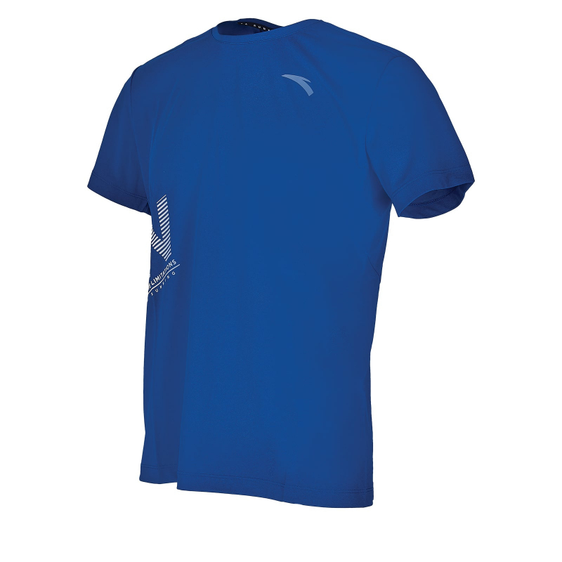 Pánske tréningové tričko s krátkym rukávom ANTA-SS Tee-MEN-85925144-2-Q219-Blue -