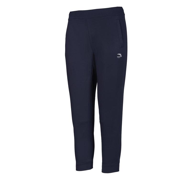 Dámske teplákové nohavice ANTA-Knit Ankle Pants-WOMEN-86927756-5-Q219-Black/White -