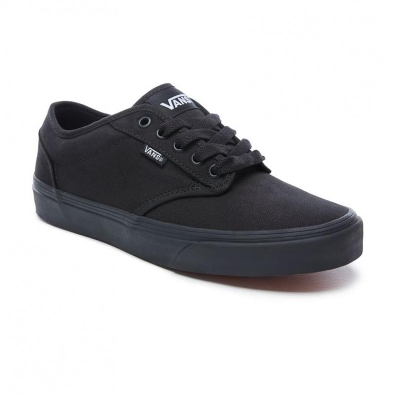 Pánska rekreačná obuv VANS-MN Atwood-(Canvas) Black/Black -