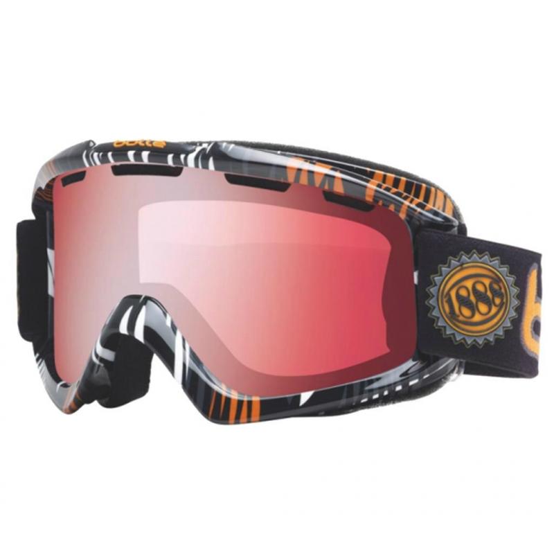 Lyžiarske okuliare BOLLE-NOVA Grey a Orange Zebra Vermillon Gun - be4cc9842c5