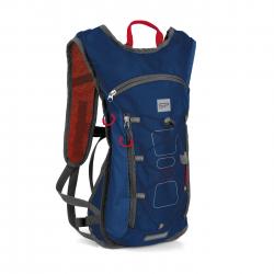 Cyklistický ruksak SPOKEY-FUJI Cyklistický a běžecký batoh 5l modrý