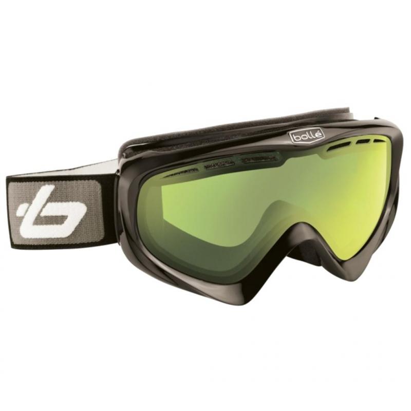 b072e421e Lyžiarske okuliare BOLLE-Y6 OTG Shiny Black Lemon -