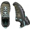 Dámska turistická obuv nízka KEEN-Targhee III WP alcatraz/blue turquoise -
