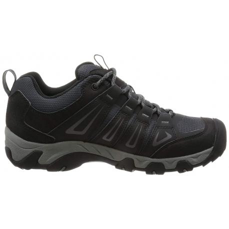 Pánska turistická obuv nízka KEEN-Oakridge WP magnet/gargoyle