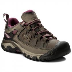 Dámska turistická obuv nízka KEEN-Targhee III WP weiss/boysenberry