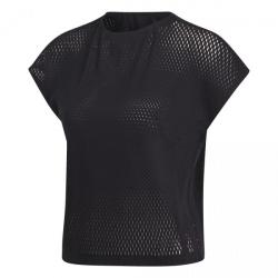 Dámske tréningové tričko s krátkym rukávom ADIDAS-WRPKNT TEE-BLACK