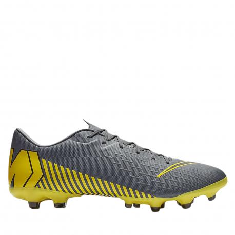 Pánske futbalové kopačky outdoorové NIKE-Mercurial Vapor X 12 Academy M FG dark grey/opti yellow/blac