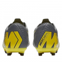 Pánske futbalové kopačky outdoorové NIKE-Mercurial Vapor X 12 Academy M FG dark grey/opti yellow -