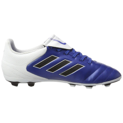 Juniorské kopačky outdoorové ADIDAS-Copa17.4 Jr FG blue / white / black