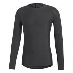 Pánske tréningové tričko s dlhým rukávom ADIDAS-ASK 360 LS 3S D-BLACK