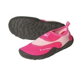 Dievčenská obuv do vody AQUALUNG-BEACHWALKER KIDS PINK