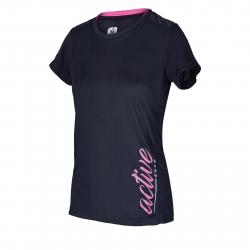 Dámske tréningové tričko s krátkym rukáv AUTHORITY-PRO ACTIVERUN W black