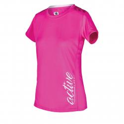 Dámske tréningové tričko s krátkym rukáv AUTHORITY-PRO ACTIVERUN W pink