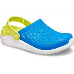Detská rekreačná obuv CROCS-LiteRide Clog K bright cobalt/citrus