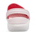 Detské kroksy (rekreačná obuv) CROCS-LiteRide Clog K poppy/white -
