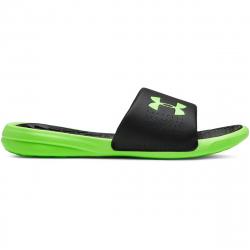 Pánska obuv k bazénu (plážová obuv) UNDER ARMOUR-UA M Playmaker Fix SL-BLK/GRN