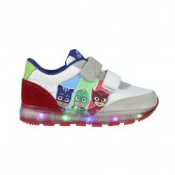 Dětská rekreační obuv CERDA-Sporty shoes lights PJ Masks grey